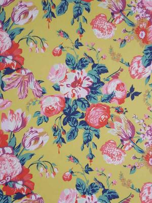 Liberty London Fabric Magical Bouquet Gelb Tana Lawn Baumwollbatist
