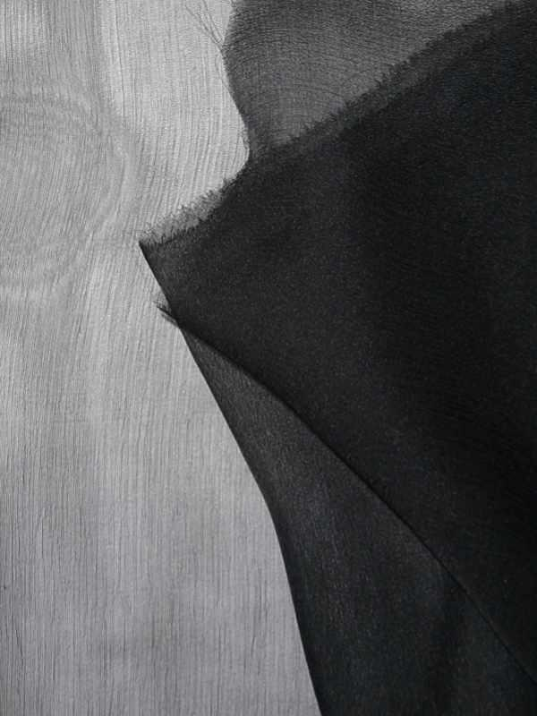 Chiffon Seidenstoff schwarz - Florence Naturstoffe 34759d2850