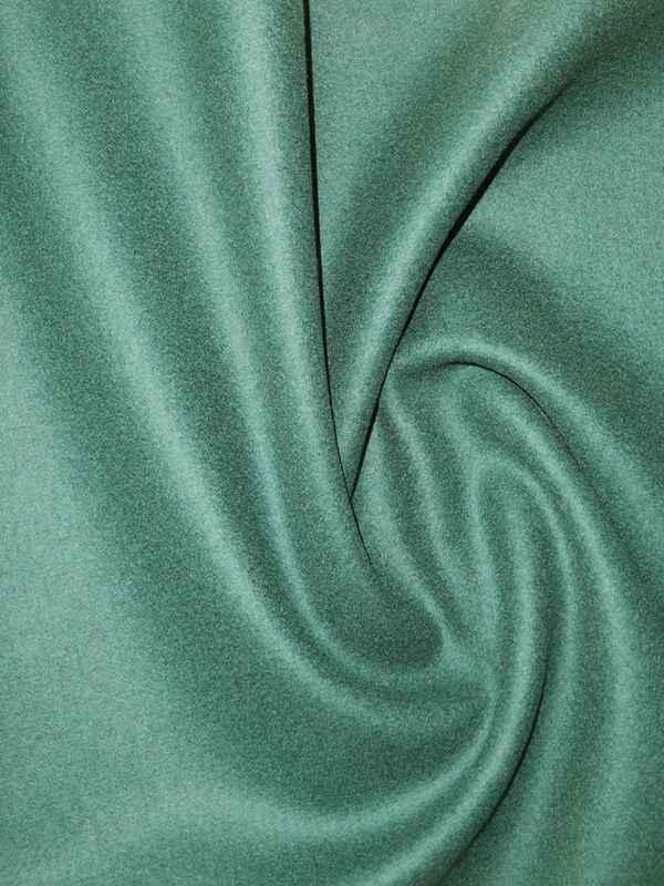 mantelstoffloden schurwolle kaschmir in dunkelgr n florence naturstoffe. Black Bedroom Furniture Sets. Home Design Ideas