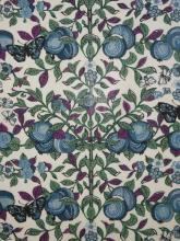 Liberty London Fabric Orchard blue auf Tana Lawn Baumwolle Batist, Liberty Stoff