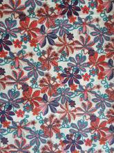 Liberty London Fabric Tumbling Vine Rot Tana Lawn Baumwollbatist