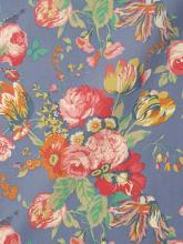 Liberty London Fabric Magical Bouquet Blue Tana Lawn Baumwollbatist