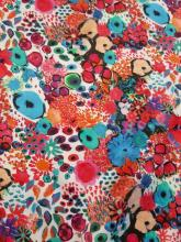 Liberty Seidensatin Small Artists Bloom Liberty Fabric Seidenstoff