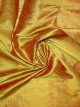 Wildseide Kleid Edel CHANGIERT Dupionseide 1 M 100/% Seide aus İTALİEN